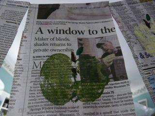 Applenewspaperbunting2